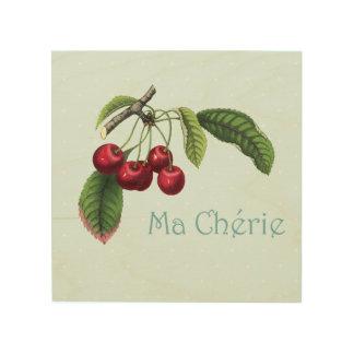 Kersen voor uw Liefje - het Houten Art. van de Hout Afdruk
