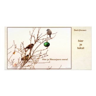 Kerst - Fotokaart - Business card - Christmas