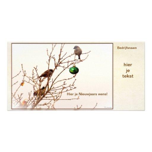 Kerst - Fotokaart - Business card - Christmas