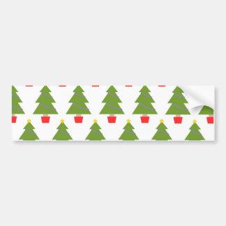 Kerstbomen Bumpersticker