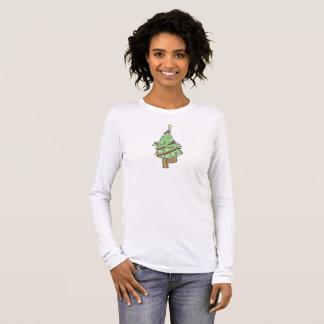 Kerstboom - de Boom van de Yoga stelt T Shirts