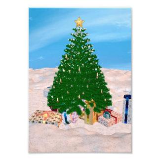 Kerstboom Foto Afdrukken