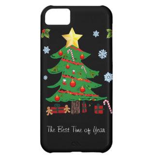 Kerstboom met iPhone 5 van de Vakantie van Giften iPhone 5C Hoesje