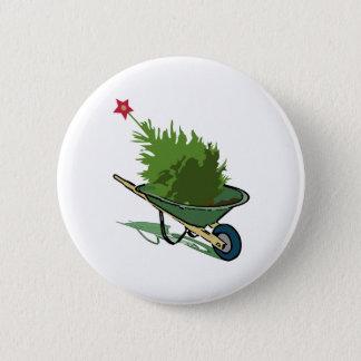 Kerstboom Ronde Button 5,7 Cm