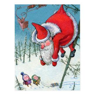Kerstkaart Briefkaart
