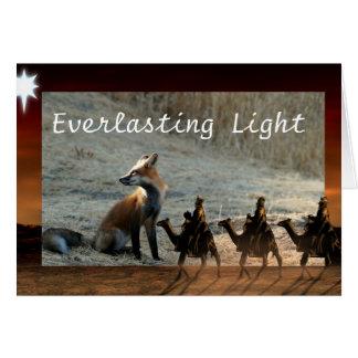 Kerstkaart, Eeuwig Licht Kaart