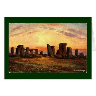 Kerstkaart - Stonehenge Wenskaart