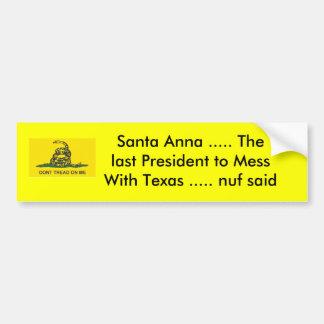 Kerstman Anna ..... het laatste President… Bumpersticker