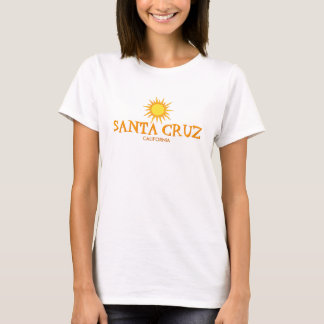 Kerstman Cruz, Californië - Zon T Shirt