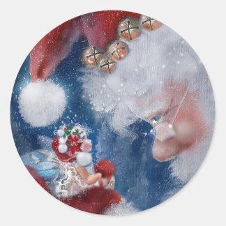 Kerstman & de Stickers van de Vakantie Faery