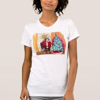 Kerstman Elvis T Shirt