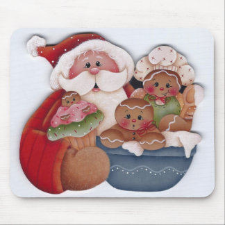 Kerstman en de Bakkers van de Chef-kok van het Muismat