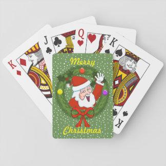 Kerstman in de Speelkaarten van van de Kroon