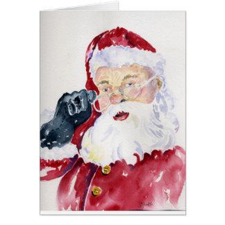 Kerstman Kaart