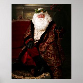 Kerstman Poster