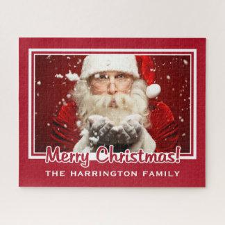 Kerstman/UW van de de douanenaam van de FOTO Puzzel