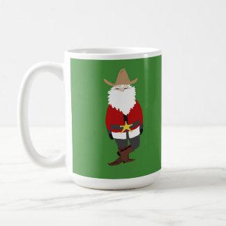 Kerstman van de Cowboy van de mok de Groene!