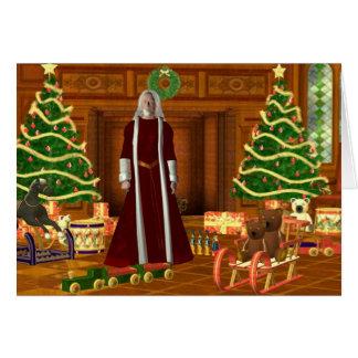 Kerstman Wenskaart