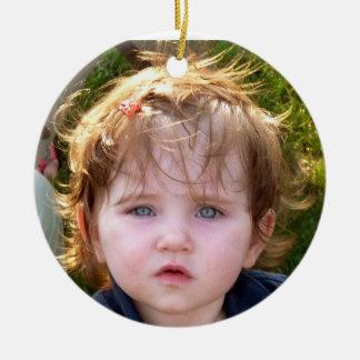 Kerstmis 2011 DeeDee Rond Keramisch Ornament