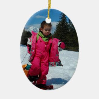Kerstmis 2011 Lucy Keramisch Ovaal Ornament