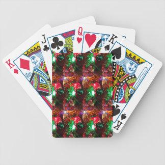 Kerstmis 5 poker kaarten