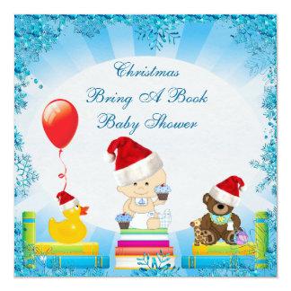 Kerstmis brengt een Jongen van het Baby van het Kaart