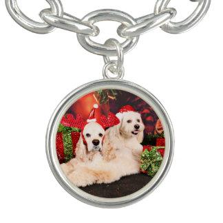 Kerstmis - Cocker - Toby, Havanese - Weinig T Bedel Armbandjes