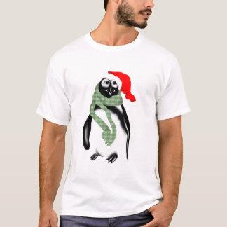 Kerstmis Dame Penquin T-Shirt