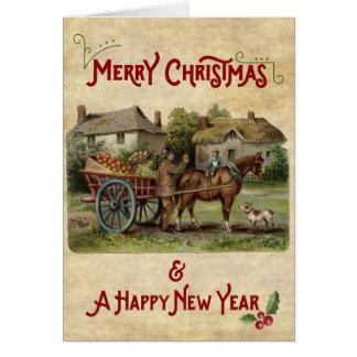 Kerstmis & de Nieuwjaarskaart van de Kar van Apple Kaart