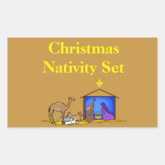 Kerstmis die Etiketten organiseert - de Reeks van