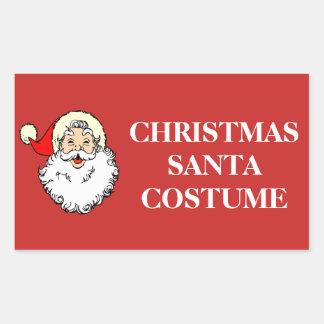Kerstmis die Etiketten organiseren - het Kostuum