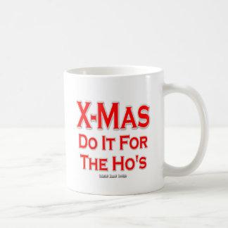 Kerstmis doet het voor Ho Koffiemok