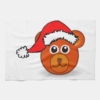 Kerstmis draagt theedoek
