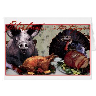 Kerstmis… een tijd te vergeven briefkaarten 0