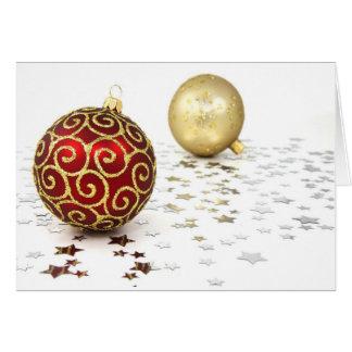Kerstmis Fröhliche Weihnachten II Wenskaart