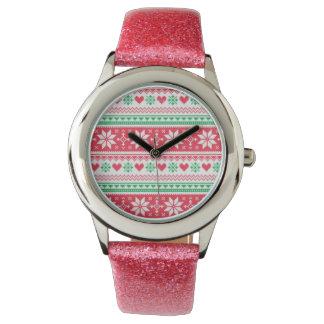 Kerstmis horloge