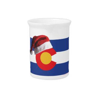 Kerstmis in Colorado Bier Pitcher