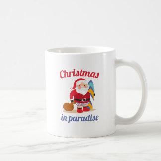 Kerstmis in Paradijs Koffiemok