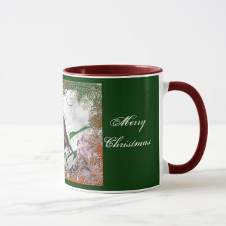 Kerstmis juicht Robin Mug toe Mok