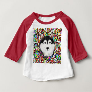 Kerstmis Malamute Van Alaska Baby T Shirts