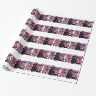 Kerstmis - Maximum Cockapoo - Inpakpapier