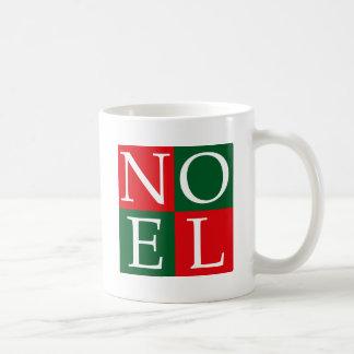Kerstmis NOEL van het pop-art Koffiemok