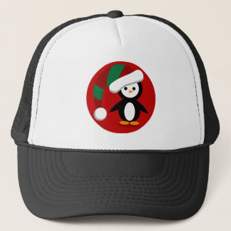 Kerstmis Penquin Trucker Pet