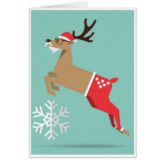 Kerstmis - Rendier Briefkaarten 0