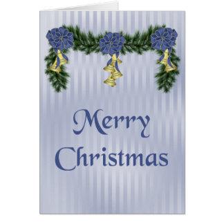 Kerstmis Swag Kaart