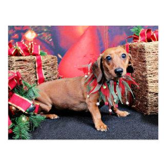 Kerstmis - Tekkel - Koper Briefkaart