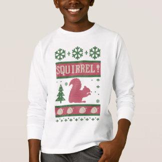 Kerstmis van de eekhoorn t shirt