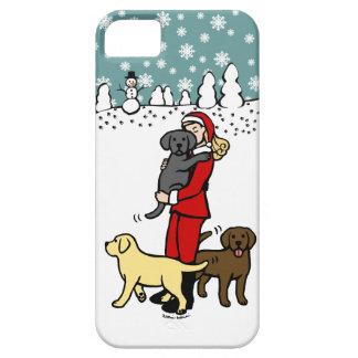 Kerstmis van de Kerstman van het Mamma van het Barely There iPhone 5 Hoesje