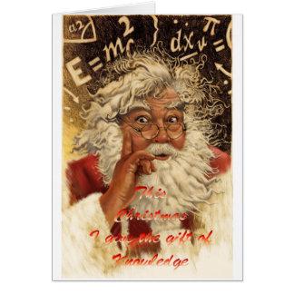 Kerstmis van de paddestoel briefkaarten 0