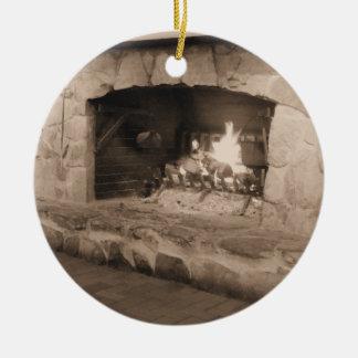 Kerstmis van het land bij het Ornament van de